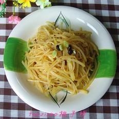 蒜蓉豆豉温拌土豆丝