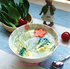 青菜柳叶面片
