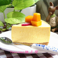 芒果乳酪慕斯蛋糕