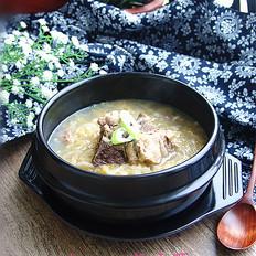 腔骨酸菜汤