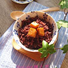 红薯紫米饭