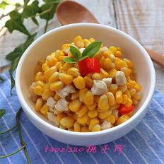 鸡肉玉米粒