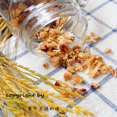 蔓越莓谷物麦片——简单教你山寨卡乐比麦片