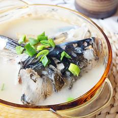 粉皮鱼头汤
