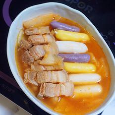 五花肉泡菜锅