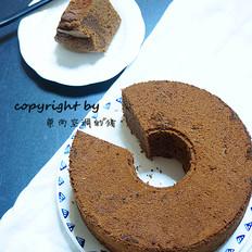 浓醇巧克力戚风蛋糕
