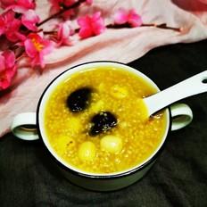 莲子红枣小米粥