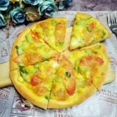 火腿披萨的做法
