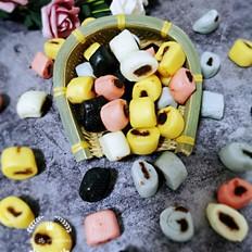 彩虹豆沙卷