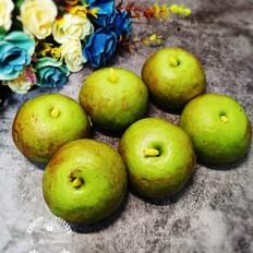 绿苹果白云豆沙包
