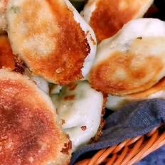 韭菜鸡蛋粉条水煎包