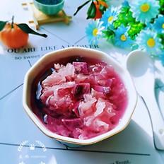 紫薯银耳汤