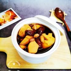 莲藕红枣芋头汤