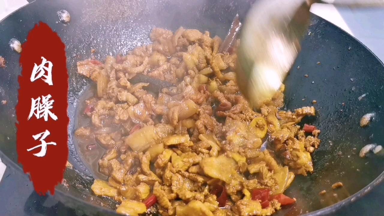 西府地方特色:肉臊子,十一不回家,自制家乡的味道