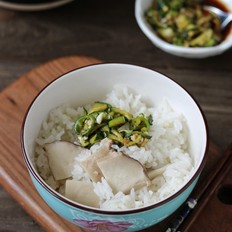 韩式杏鲍菇饭
