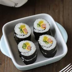 午餐肉紫菜包饭
