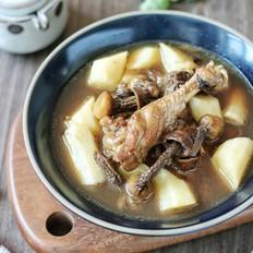 姬松茸山药鸡汤