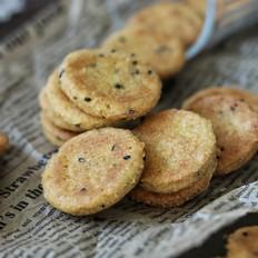 黑芝麻红薯饼干