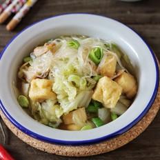 油豆腐炖白菜