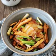 青蒜香干回锅肉