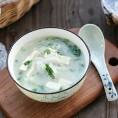 虾皮萝卜豆腐汤