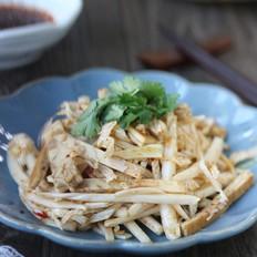 豆干拌白菜心