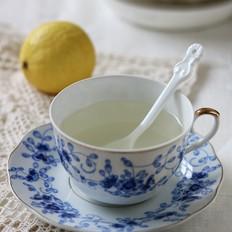 糖渍柠檬蜜桃茶