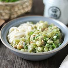 海米芸豆打卤面