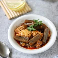 红烧豆腐魔芋