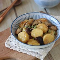香菇烧日本豆腐