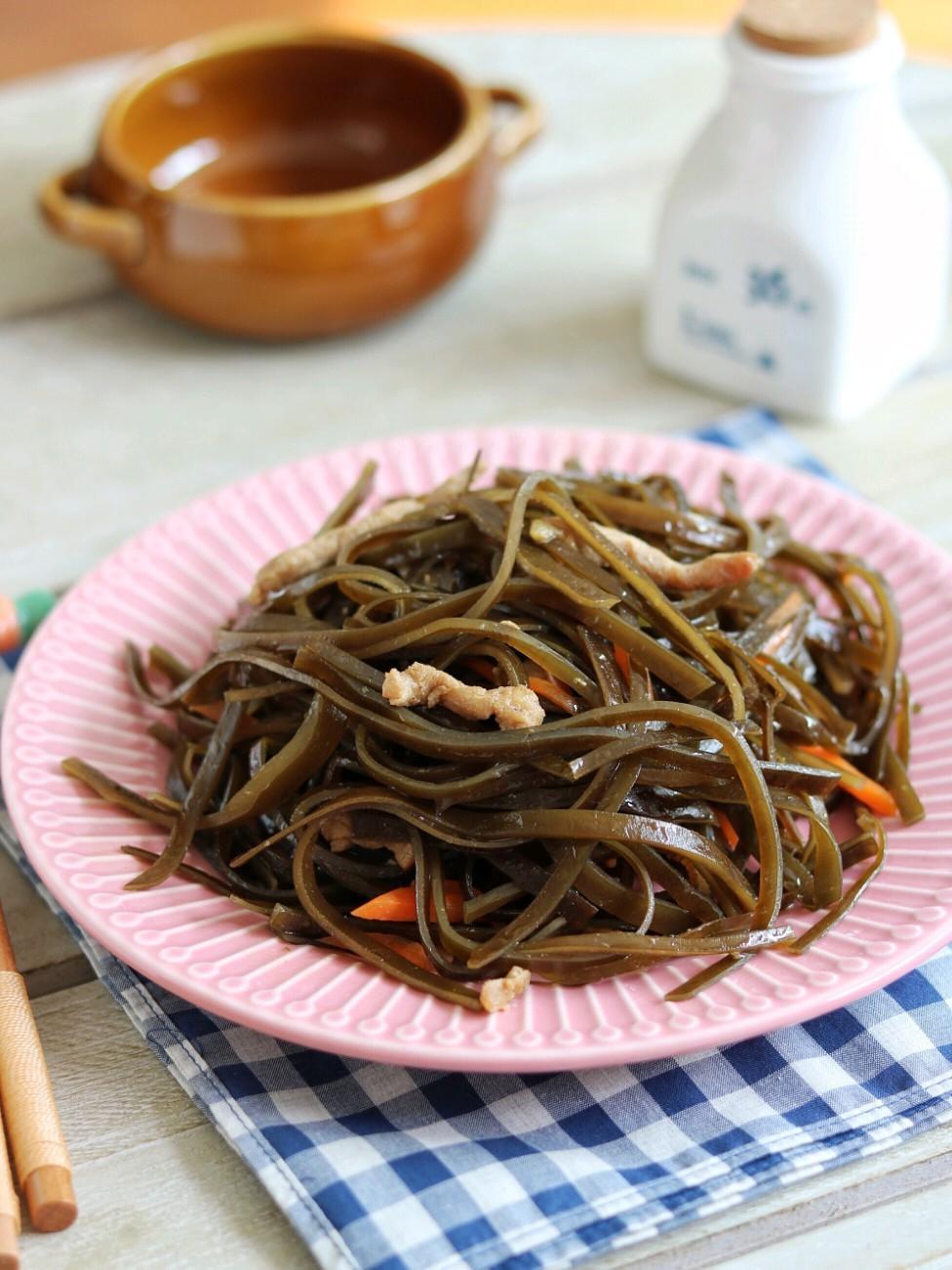 海带丝炒肉