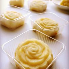 榴莲芝士冰皮月饼