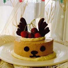 麋鹿巧克力慕斯蛋糕