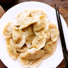 萝卜牛肉水饺