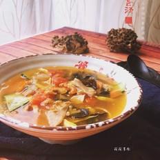 舞茸素烩汤