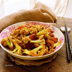 简易版干锅菜花