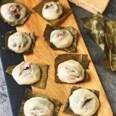 简易糯米粉粽子