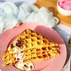 淡奶油版丹麦华夫饼
