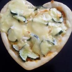 自制爱心披萨