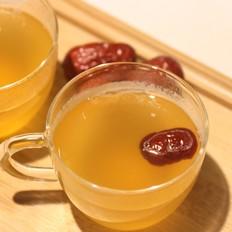 麦芽糖红枣姜茶