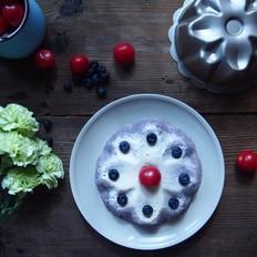 蓝莓柠檬芝士蛋糕