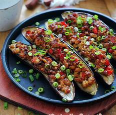 蒜蓉肉末烤茄子