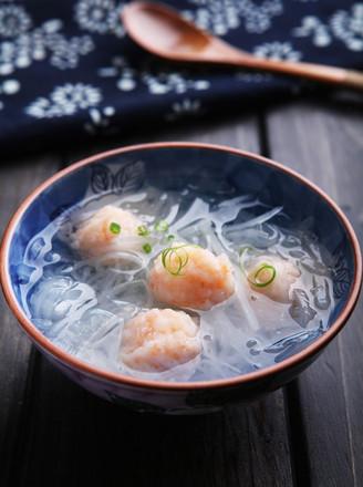 虾丸萝卜汤的做法