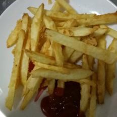 简单的炸薯条