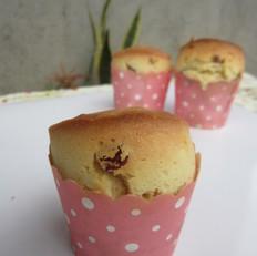 葡萄干马芬蛋糕