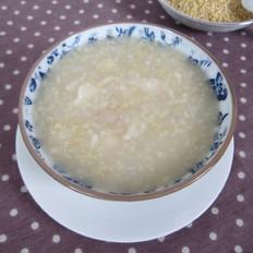 莲子百合小米粥