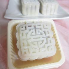 豆沙冰皮月饼
