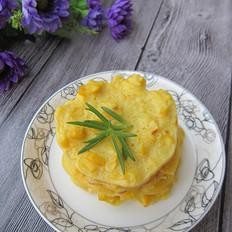 玉米鸡蛋饼