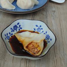 玉米猪肉水饺