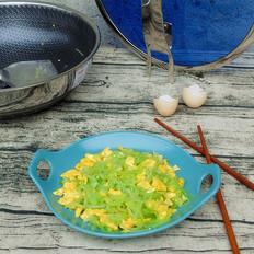 莴笋炒鸡蛋